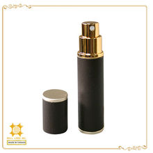 Exclusive design Travel 10ml leather perfume empty glass bottle