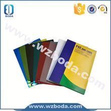 Brand new a4 pvc binding cover