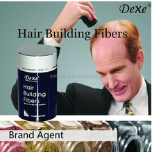 Hair Fibers Manufacturer miracle hair building fiber with hair thickening cotton fiber