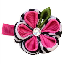 Top quality new arrival hair and brooch ribbon sculpture clip