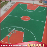 Caboli acrylic paint for badminton court and outdoor basketball court paint with acid resistant epoxy paint