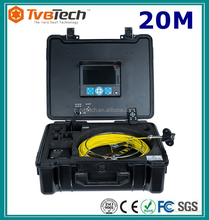 20/30/40M Sony CCD 23MM Camera Head Sewer Camera Inspection Service 8 Working Hours With Meter Counter