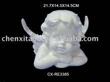 white porcelain decoration Ceramic Angel Figurines