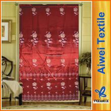 100% Polyester Satin Latest Curtain Fashion Design