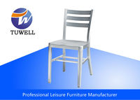 TW1002 Outdoor Anodizing Aluminium Navy Chair With Welding Structure