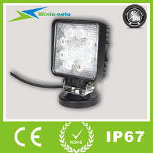 Car Accessories 4inch 24W IP67 off road LED driving Light multiple voltages 1850 Lumen WI4242
