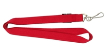 simple lanyard for custom PMS color with swivel hook free sample for lanyard