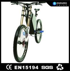 80-100km/h full suspension Enduro EBike 5000w With Lifepo4 Battery