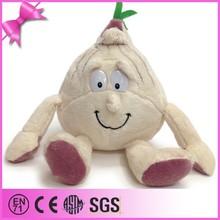 Top quality factory custom cute white soft toys vegetable plush toy, plush onion