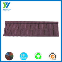 China roofing price/Stone Coated Metal Shingle Roof
