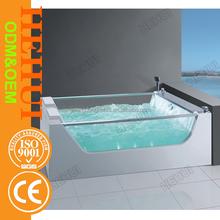 RC-D1106 fiber glss bathtub and classic acrylic bathtub with custom size plastic bathtub for adult