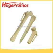 Promotional Plastic Ball Pen Bone Shaped Ballpoint Pen