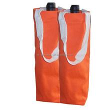 wholesale wine bottle bags, wine bottle cotton tote bags, fancy wine bag
