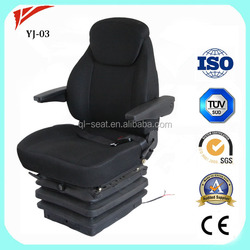 Luxury air suspension heavy duty truck rotating seat