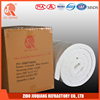 Refractory heat insulation fiber ceramic blanket