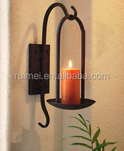 Popular Wall-mounted Metal Candle Holder For Wedding