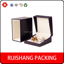 Customized Luxury Brown velvet jewelry packing paper box,paper jewelry box for ring pendant necklace bangle bracelet