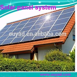5kw solar panel manufacturing machines/home solar panel kit/solar pv panel