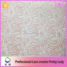 Wholesale fashion hot sale embroidered lace fabric new sample fee