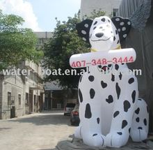 Inflatable dog, inflatable air cartoon model advertising product for activity on sale