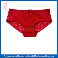 2015 Hot Sale Women Red Lace Panties Brief Underwear 026