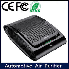 China factory car air purifier & car -mounted charger for car odor active air purifeir