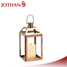 garden medium size outdoor gold metal lantern