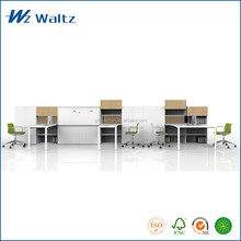 Cheap fashion MFC steel frame office partition/ workstation