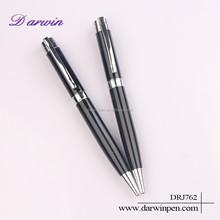 Black Twist Metallic Ball-point Pen China School Stationery