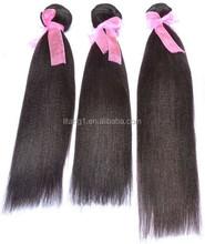 2015 new arrival fashionable hair 100% human Yaki Hair bundles