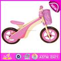 Caliente la venta de la alta calidad de bicicleta de madera, Popular madera bicicleta de equilibrio juguete