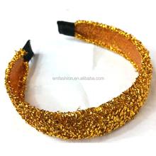 Wholesale Custom Women Girls Glitter Sequin Hiar Band Head Band