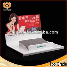 custom design white acrylic andriod/Ipad tablet display stand