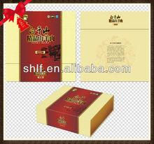 Beautiful Economic Art Paper Box for Food