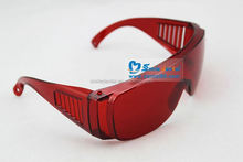 dental protection glasses/dental safety glasses for teeth whitening