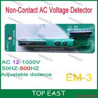 Non-contact infrared AC Alert Voltage Pen Detector Tester 90-1000V Detection range <5mm