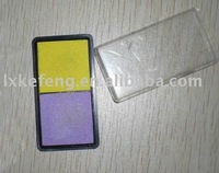 two color mini ink pad