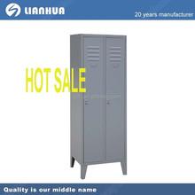 Hot sale double door wardrobe with foot