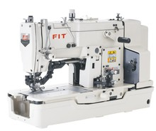 FIT781 high speed lockstitch straight button holing industrial sewing machine