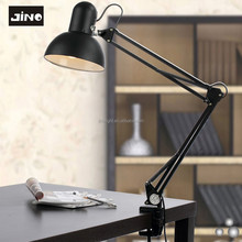 Black foldable study lamp portable luminaire table lamp for manicure table