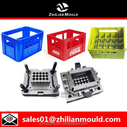 high quality plastic cola/beer/milk crate mould maker in taizhou