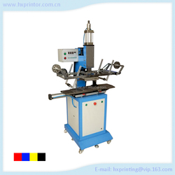 Cylinder cosmetic cap Hot stamping machine