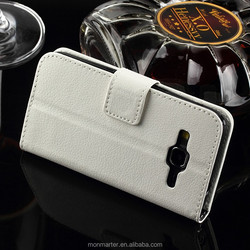 New Leather Wallet Case for Samsung Galaxy G360f, Folio Business Style for Samsung G360f case, Stand Case for G360f case