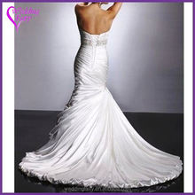 New arrival low price organza plus size wedding dres fast shipping
