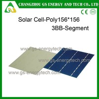 poly type156mm 125mm taiwan solar cell