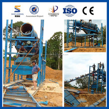 Sierra Leone Gold Mining Trommel with 2015 Professional Manufacturing Machine