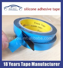 Green film adhesive double sided silicone tape