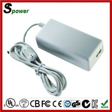 China Market 12V 8A EU USA Adapter White Color 96W