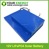wholesale price recharge 12v 30Ah solar energy storage battery customised size lifepo4 battery pack for solar energy