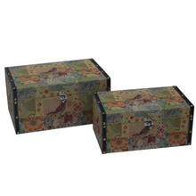 Antique Style Trinket Wooden Box